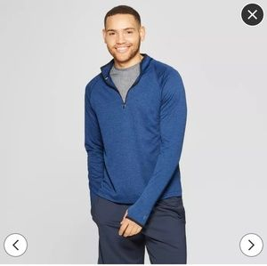 NWT men's running pullover